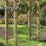 садовые арки и перголы своими руками