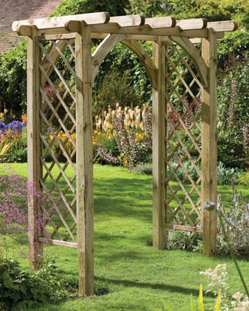 Садовая арка для цветов на даче своими руками: мастер 86