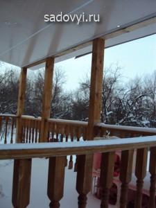 летняя деревянная терраса на даче своими руками