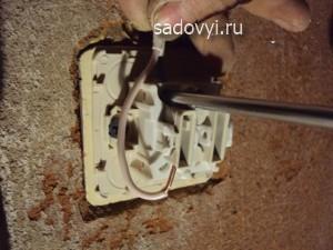 монтаж выключателя своими руками