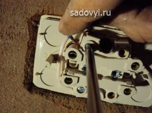 как сделать розетку своими руками