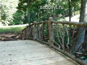 деревянные мостики для сада, фото