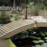 декоративные садовые мостики, фото
