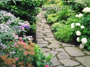 садовая дорожка своими руками, фото