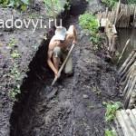 укрепление берега ручья своими руками
