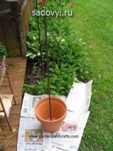 как сделать цветник на даче своими руками, фото