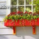 как сделать деревянный балконный ящик для цветов своими руками