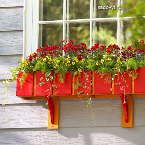 Красивый и необычный цветочный контейнер своими руками 94