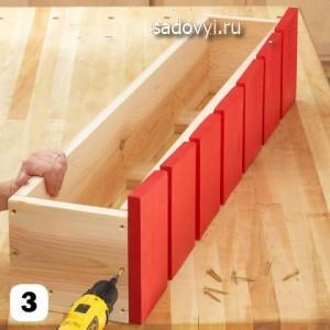 деревянный балконный ящик для цветов своими руками