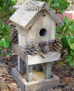 оригинальные скворечники для птиц , 12 фото