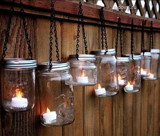 Дачное освещение. Идеи садовых светильников своими руками Обустройство загородного дома и участка своими руками