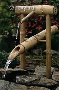 как сделать фонтанчик для сада своими руками