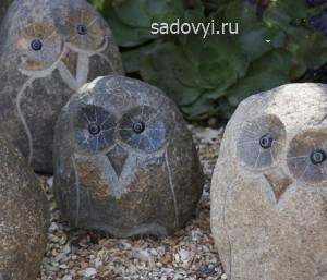 декор из камня для сада своими руками