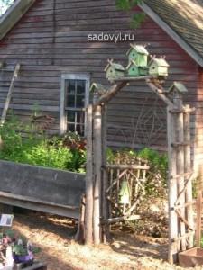 садовые калитки своими руками, фото идеи