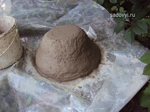 технология изготовления садовой скульптуры из бетона