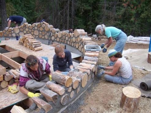 строим баню сами из дров, этапы