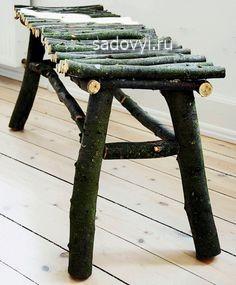 садовая мебель своими руками, фото