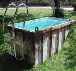 мини бассейн своими руками на даче