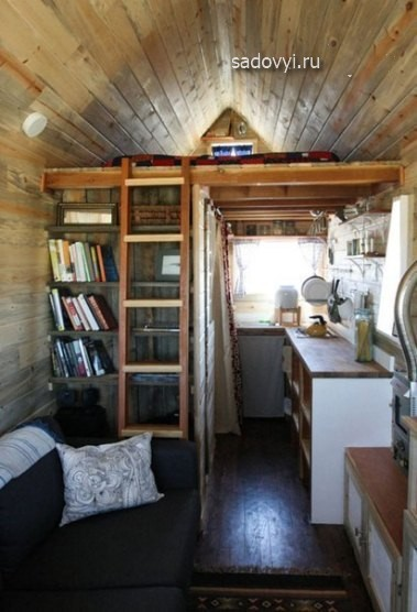 Интерьер небольшого дома своими руками 70