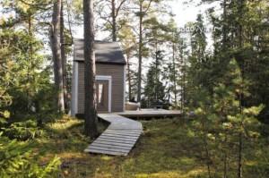 маленький дачный домик с террасой фото