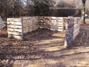 строительство сарая своими руками на даче из деревянных поддонов