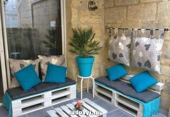 Фотографии оригинальной и уютной мебели для дачи