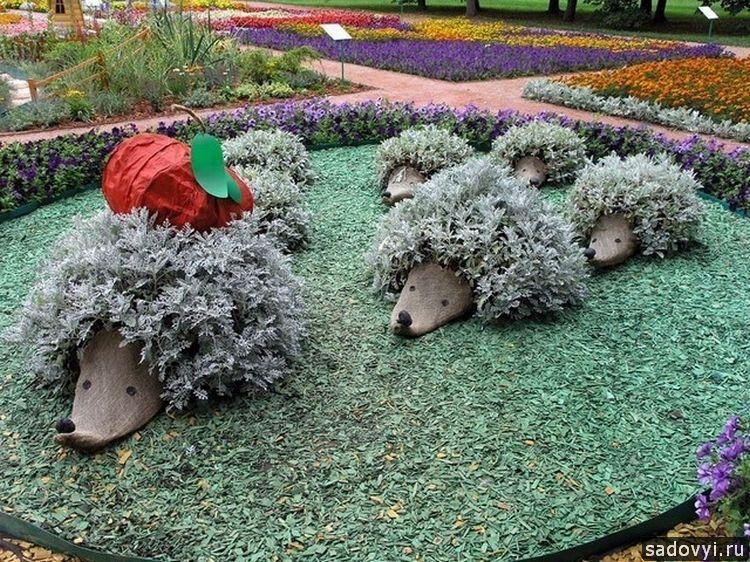 Дизайн цветников на даче своими руками фото