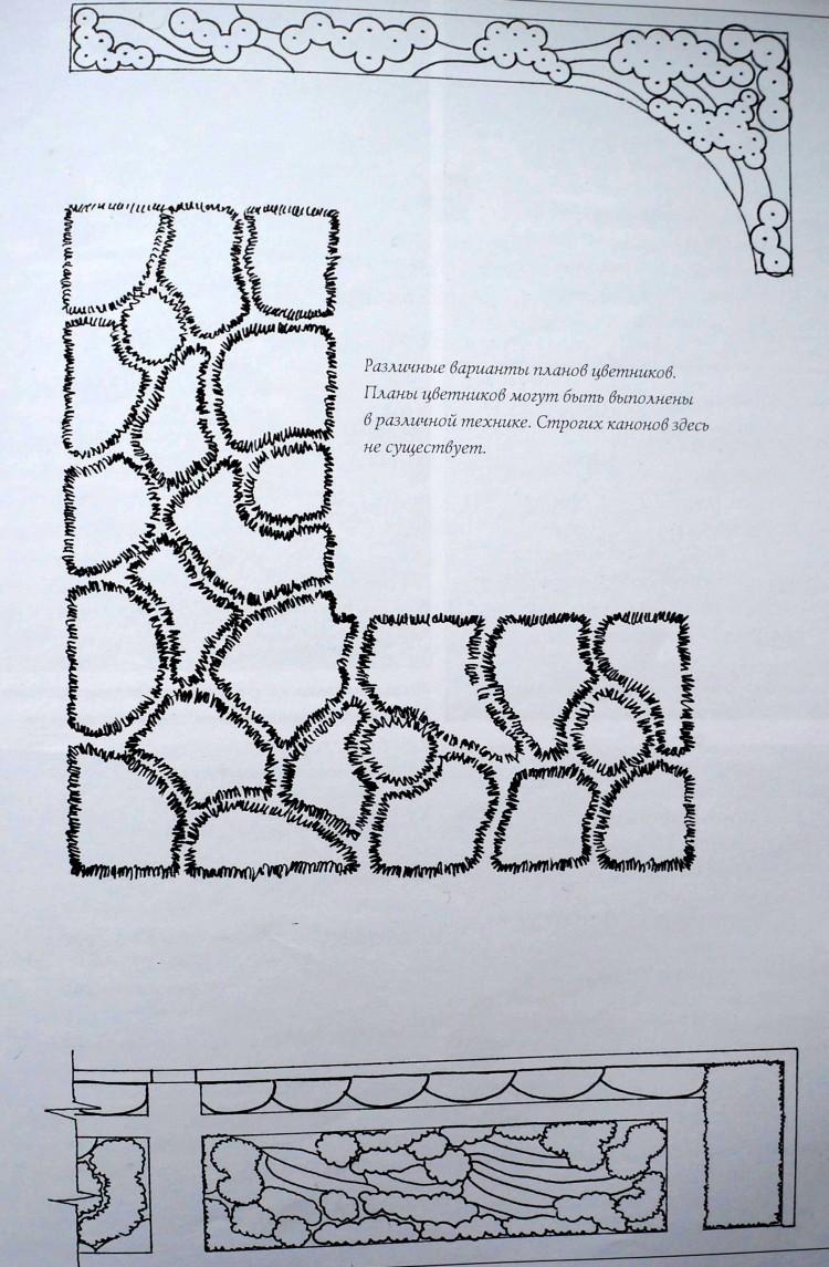 План цветника и этапы его проектирования