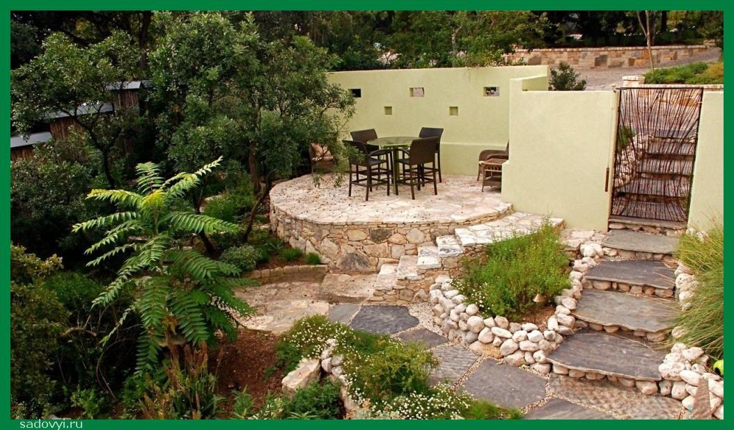 Фото дизайн оформления внутреннего двора