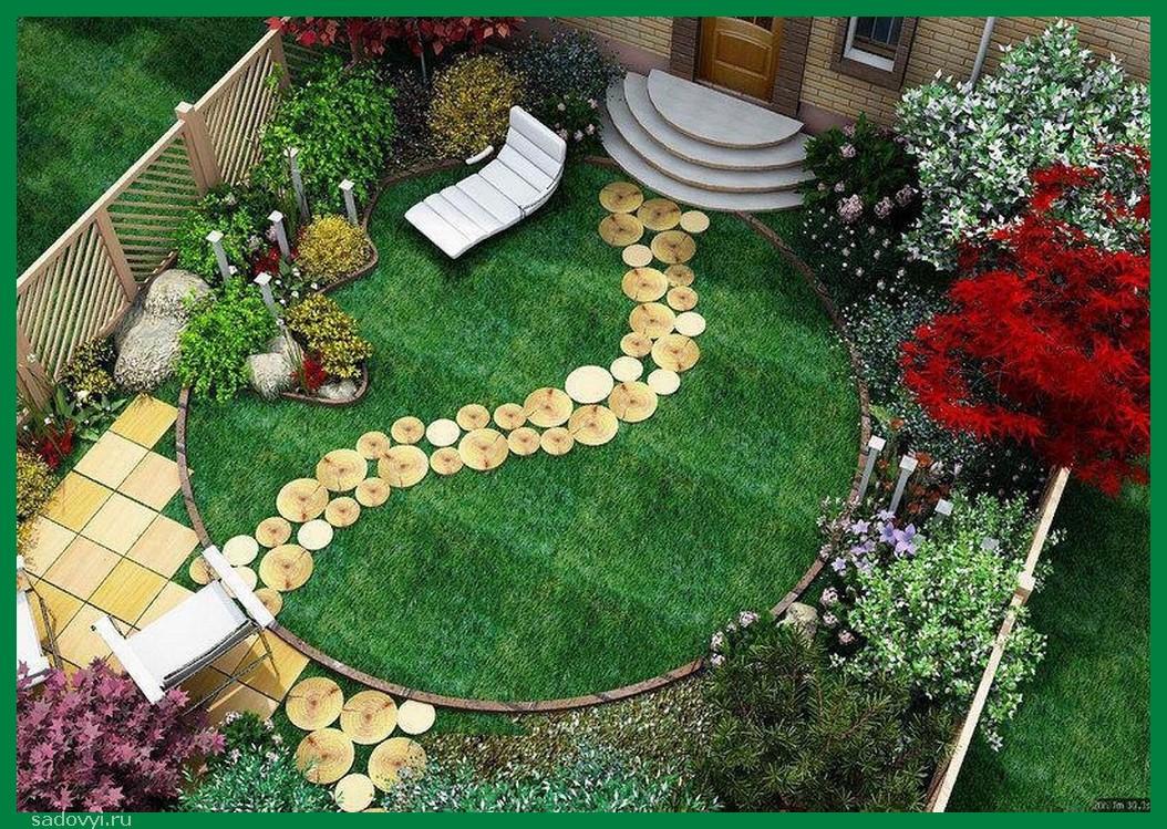 Дизайн садового участка своими руками недорого