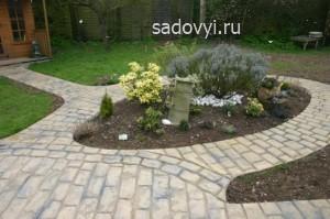 садовые дорожки из брусчатки и тротуарной плитки