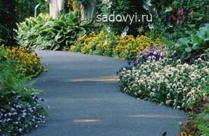 садовые дорожки с асфальтовым покрытием