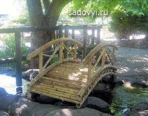 садовые мостики для дачи, фото