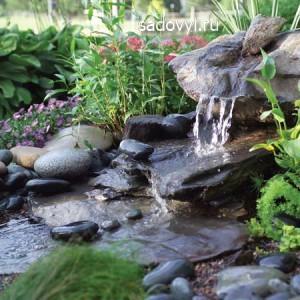 как сделать садовый фонтан своими руками
