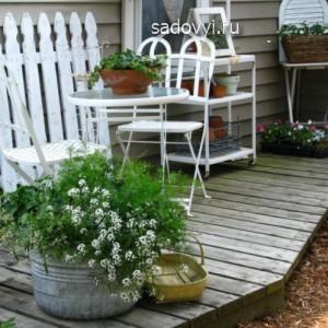 дачная летняя терраса к дому, фото и дизайн