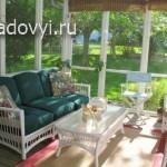 красивая терраса в дому, фото
