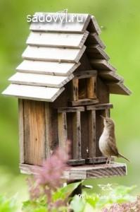 оригинальные скворечники для птиц своими руками, 12 фото