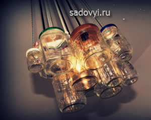 уличное дачное освещение, светильники своими руками