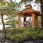 free gazebo plans 02 - Обустройство загородного дома и участка своими руками - Как сделать деревянную беседку в японском стиле своими руками. Фото и чертежи