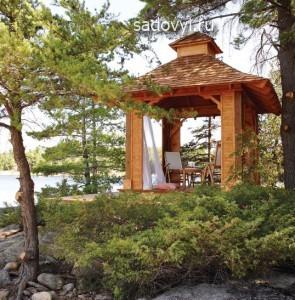 как сделать садовую беседку в японском стиле своими руками