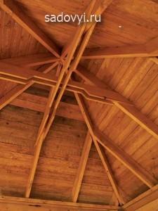 крыша для беседки своими руками фото