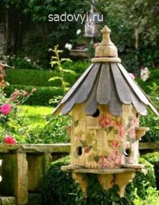 красивые оригинальные скворечники для птиц, фото