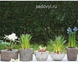 1 1 - Обустройство загородного дома и участка своими руками - Садовые скульптуры из бетона (вазоны, шары, ящики) своими руками