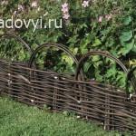 1961 1 - Обустройство загородного дома и участка своими руками - Как сделать плетень на даче своими руками