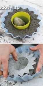 2 1 - Обустройство загородного дома и участка своими руками - Садовые скульптуры из бетона (вазоны, шары, ящики) своими руками