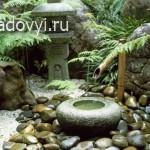 как сделать фонтан для японского сада тсукубаи своими руками