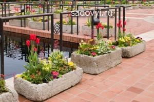 4 1 - Обустройство загородного дома и участка своими руками - Садовые скульптуры из бетона (вазоны, шары, ящики) своими руками