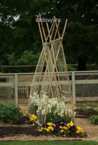 изготовление шпалеры для сада своими руками