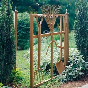 садовые калитки своими руками дизайн
