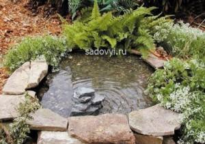 1 - Обустройство загородного дома и участка своими руками - Как сделать пруд из покрышек своими руками